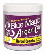 Blue Magic Argan oil herbal complex leave in conditioner 13.75 oz