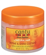 Cantu Shea Butter for Natural Define & Shine Custard 12 oz