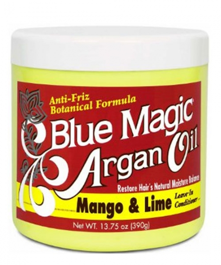 Blue Magic Argan Oil Mango and Lime Leave in Conditioner 13.75 oz
