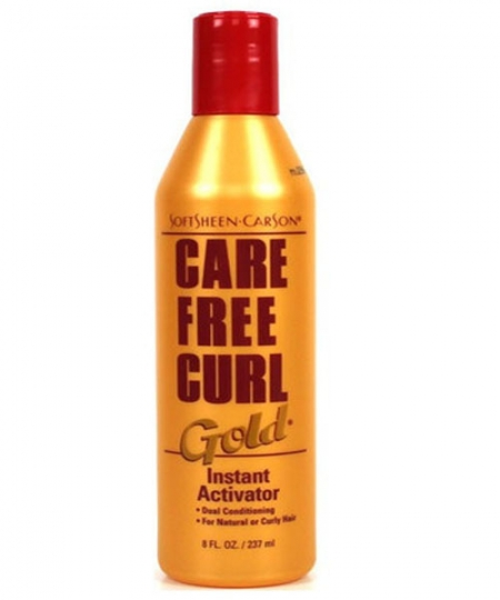 how to use care free curl gold instant activator