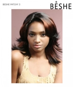 Beshe  Synthetic Full Wig - PATCHY 3