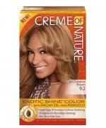 Creme Of Nature Hair Color, Light Caramel Brown 9.2