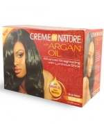 Creme of Nature With Argan Oil No-Lye Relaxer, Regular