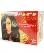 Creme of Nature With Argan Oil No-Lye Relaxer, Super