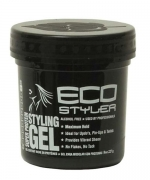 ECO Styling Gel, Super Protein Black 8 oz