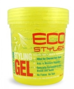 ECO Firm Hold Yellow Styling Gel 16 oz