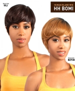 The Wig BRAZILIAN Human Hair Blend Full Wig - HH-BOMI