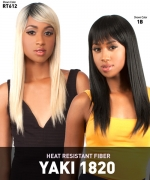 he Wig NATURAL HAIR COLLECTION Synthetic Full Wig - YAKI 18-20