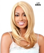 The Wig BRAZILIAN INVISIBLE DEEP PART Human Hair Blend Lace Front Wig - LH-EROS