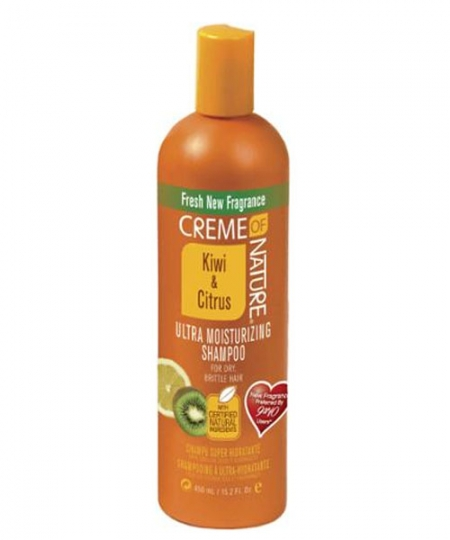 Creme of Nature Ultra Moisturizing Shampoo, Kiwi & Citrus, 15.2 oz