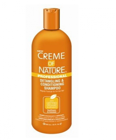 Creme Of Nature Sunflower & Coconut Detangling Conditioning Shampoo,20 oz