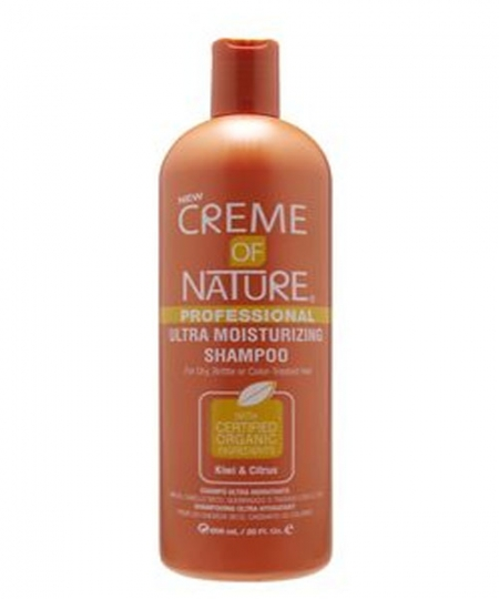 Creme of Nature Ultra Moisturizing Shampoo, Kiwi & Citrus, 20 oz