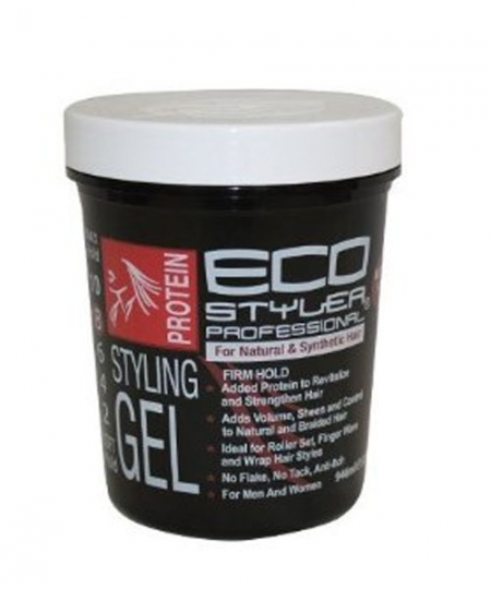 ECO Firm Hold Protein Styling Gel 8 oz