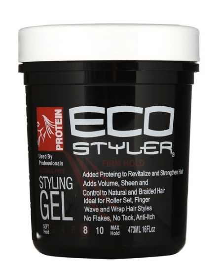 ECO Firm Hold Protein Styling Gel 16 oz