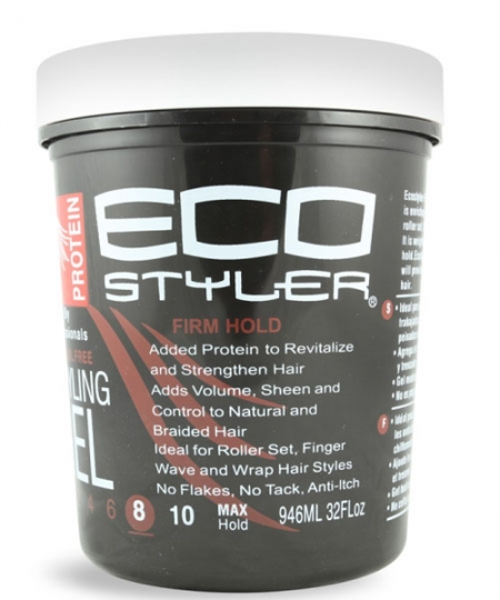 ECO Firm Hold Protein Styling Gel 32 oz