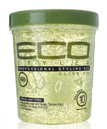 O Styler Professional Styling Gel, Olive Oil 8 oz