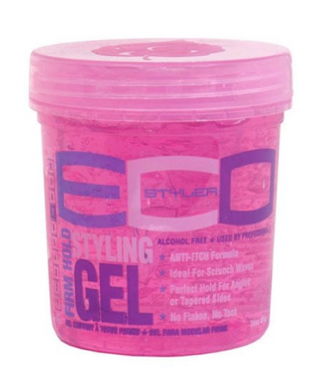 ECO Firm Hold Red Styling Gel 8 oz