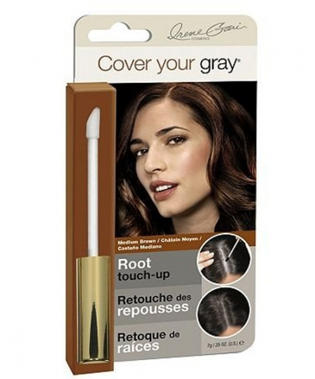 Cover Your Grey for Women Root Touch Up, Medium Brown 0.25 oz