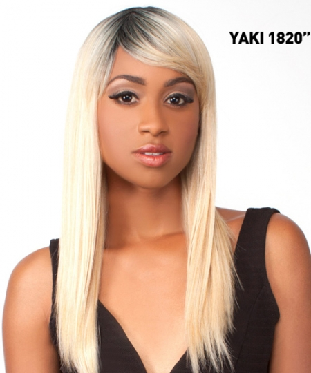 The Wig NATURAL HAIR COLLECTION Synthetic Full Wig - YAKI 18-20