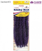 New Born Free Hair Piece - NRT24 NATTY ROD KINKY TWIST 24 (1/100) Synthetic Hair Piece