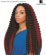 Sensationnel  Synthetic Weave Extention - AFRICAN COLLECTION-BANTU BRAID 40