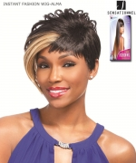 Sensationnel 100% PREMIUM FIBER Futura Synthetic Full Wig - INSTANT FASHION WIG-ALMA
