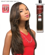 Sensationnel GODDESS Remi Human Hair Weave Extention - SELECT REMI NEW YAKI 16