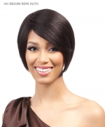 It's a wig Remi Human 100% Indian   Full Wig - HH INDIAN REMI RUTH