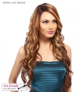 It's a wig Synthetic Futura Lace Front - SWISS LACE BRIDGE
