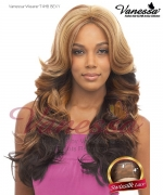 Vanessa Lace Front Wig T4HB BEXY - Human Hair Blend Brazilian Human Hair Blend Lace Front Wig