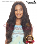 Vanessa Lace Front Wig T4HB HELTEX - Human Hair Blend Brazilian Human Hair Blend Lace Front Wig