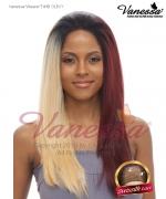 Vanessa Lace Front Wig T4HB OLEXY - Human Hair Blend Brazilian Human Hair Blend Lace Front Wig