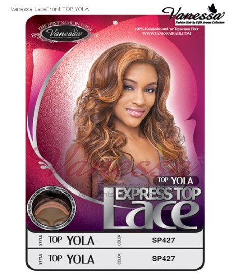 Vanessa Lace Front Wig TOP YOLA - Synthetic  Lace Front Wig
