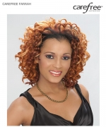 Care Free Half  Wig - FARRAH  Synthetic Half  Wig