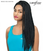 Care Free Lace Front Wig - SHAYNA BRAIDS Synthetic Lace Front Wig