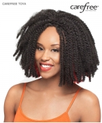 Care Free Full Wig - TOYA BRAIDS Synthetic Full Wig