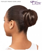 Foxy Lady Hair Piece - FRENCH DOME L   Synthetic Hair Piece