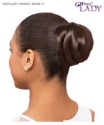 Foxy Lady Hair Piece - FRENCH DOME M  Synthetic Hair Piece