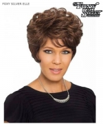 Foxy Silver Full Wig - ELLE  Synthetic Full Wig