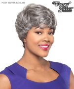 Foxy Silver Full Wig - ROSLYN  Synthetic Full Wig