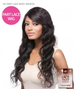 It's a wig Remi Human Part Lace Front Wig - HH PART LACE BODY WAVE24