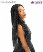 New Born Free Lace Front Wig - MLB20 MAGIC LACE BRAID WIG 20 - BOX BRAID (Small)