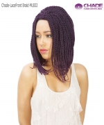 New Born Free Lace Front Wig - MLB32 MAGIC LACE BRAID WIG 32 - Senegal Twist Bob