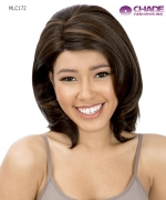 New Born Free Lace Front Wig - MLC172 MAGIC LACE CURVED PART 172 Futura Synthetic Lace Front Wig