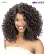 New Born Free Lace Front Wig - MLC178 MAGIC LACE CURVED PART 178 Futura Synthetic Lace Front Wig