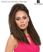 Sensationnel   Synthetic Hair Piece - AFRICAN COLLECTION(LOOP)- ARUBA WAVE