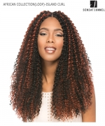 Sensationnel  Synthetic Hair Piece - AFRICAN COLLECTION(LOOP)- ISLAND CURL