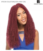 Sensationnel  Synthetic Hair Piece - AFRICAN COLLECTION(LOOP)- KINKY CURL