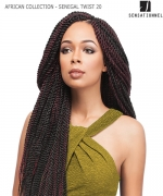 Sensationnel  Synthetic Hair Piece - AFRICAN COLLECTION(LOOP)- SENEGAL TWIST 20