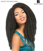 Sensationnel 100% PREMIUM FIBER Synthetic Wig - CROCHET WIG-BANTU BRAID